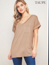 Load image into Gallery viewer, Perfect V-Neck Tee
