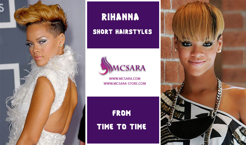 50 Best Rihanna Short Hairstyles From Time To Time