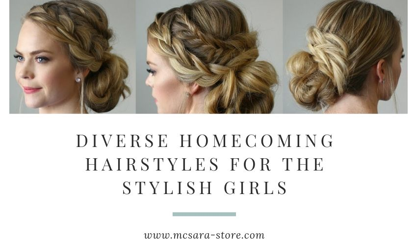 DIVERSE HOMECOMING HAIRSTYLES FOR THE STYLISH GIRLS