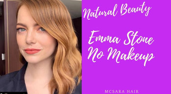 Natural Beauty: Emma Stone No Makeup