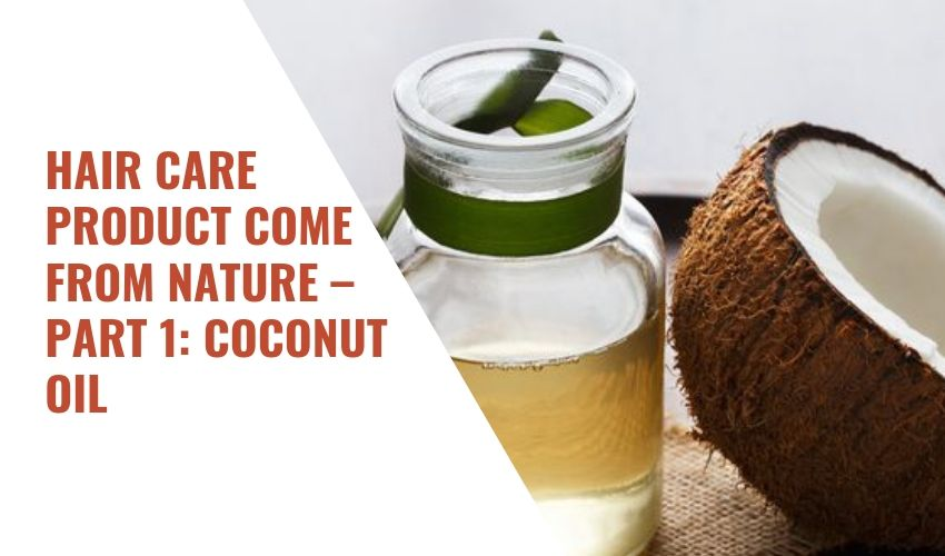 HAIR CARE PRODUCT COME FROM NATURE – PART 1: COCONUT OIL