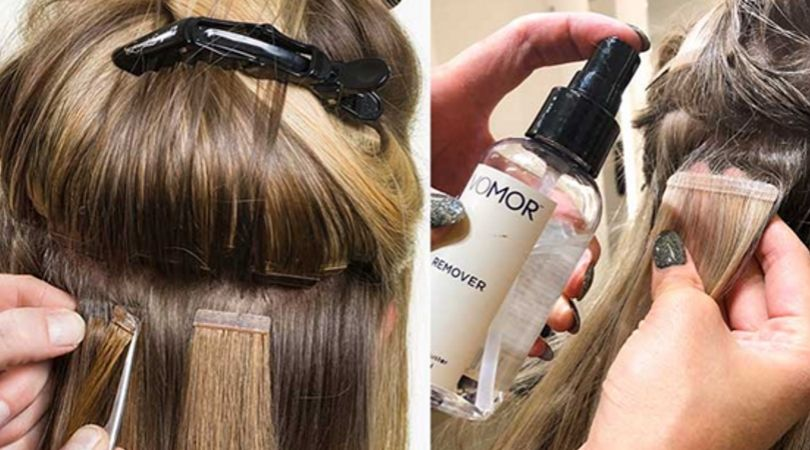 How To Remove Tape In Hair Extensions: All Easy And Safe Tips