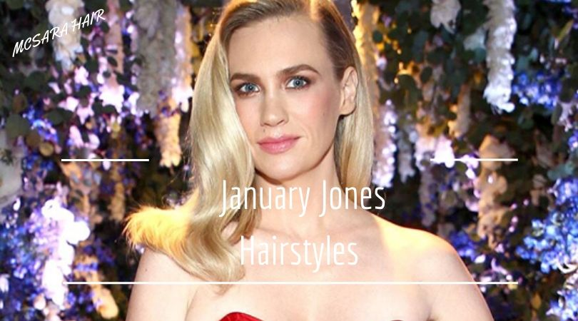 Get New Hairdo From January Jones Hairstyles