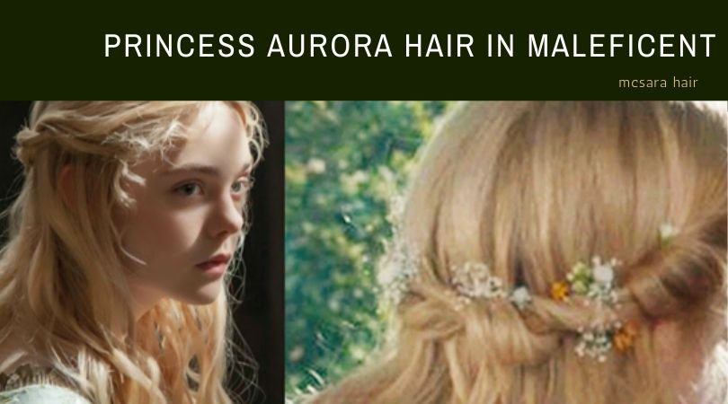 How To Make Princess Aurora Hair In Maleficent-Mistress Of Evil?