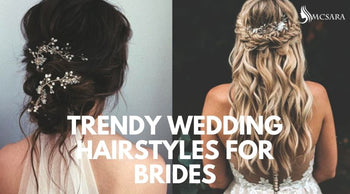 Trendy Wedding Hairstyles For Brides