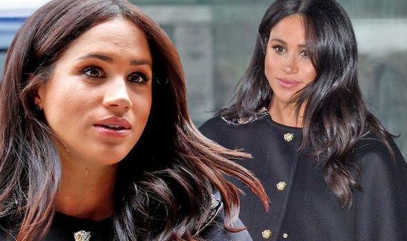 Meghan Markle's Hairstyles During Pregnant Period