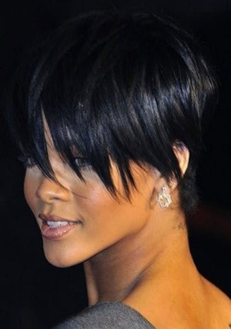 Stacked Cut with Elongated Bangs