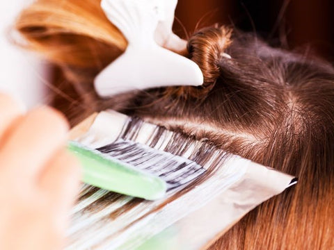 Add some sweetener to your hair dye to protect the scalp