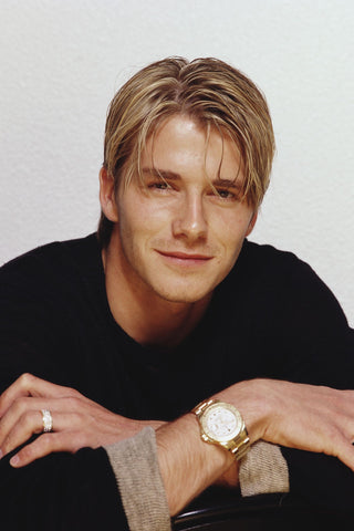 David Beckham hairstyles: long hair