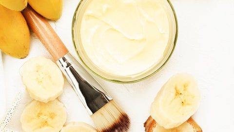 The Incredible Benefits Of Using A Banana Mask For Hair