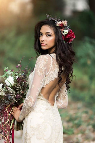 Bohemiam boho Bridal Hairstyles large - Wedding Hairstyles And Make-Up For Beautiful Brides-To-Be