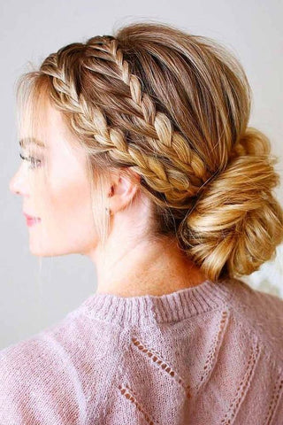 10 Extremely Shimmering Wedding Hairstyles For Women