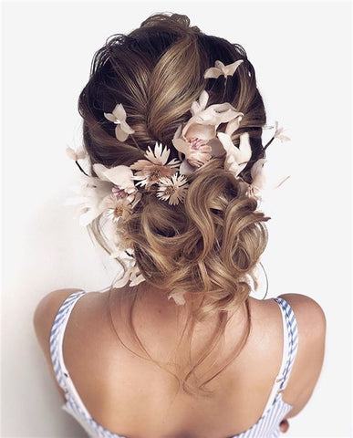 Why do you choose long wavy wedding hairstyles?