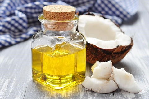 Use coconut oil to care for damaged hair