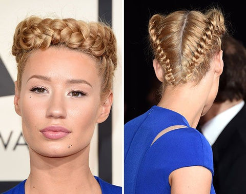 Iggy Azalea's Beautiful Hairstyles And No Makeup Look!