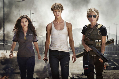 The Beauty Of The Female Hero From Terminator: Dark Fate
