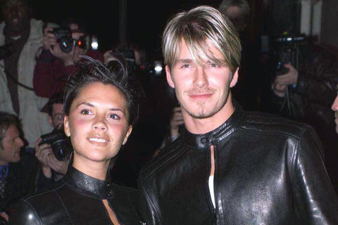 David Beckham hairstyles: bang hair
