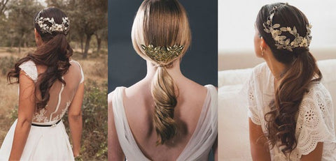 Delicate ponytail large - Wedding Hairstyles And Make-Up For Beautiful Brides-To-Be
