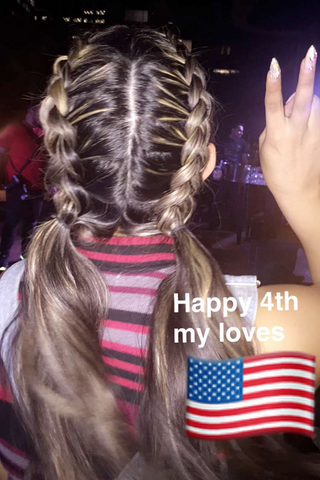Double French braids large - MCSARA Hair