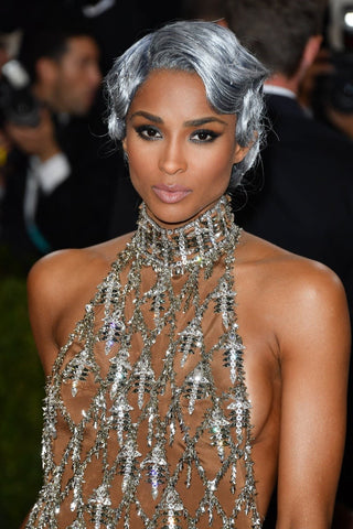 Appeared in Met Gala 2016, Ciara looked so fabulous with her short silvery hair