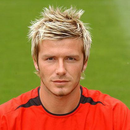 David Beckham highlight hairstyles