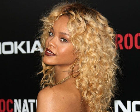Rihanna Blonde Hair Honey Blonde Waves