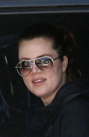 Khloe Kardashian without makeup