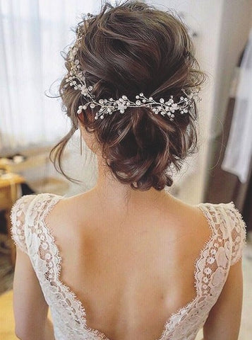 Trendy Wedding Hairstyles For Brides Mcsara Hair