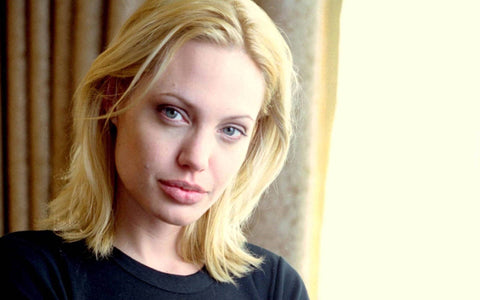 Angelina Jolie blonde hair color