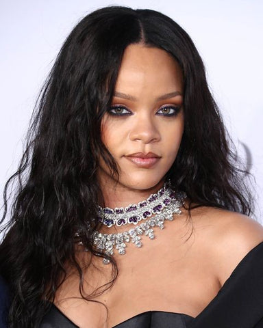 Rihanna Long Tousled Tresses