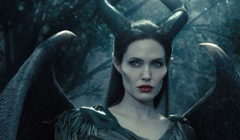 Beautiful Angelina Jolie's Hairstyles From Movies Maleficent (2014)