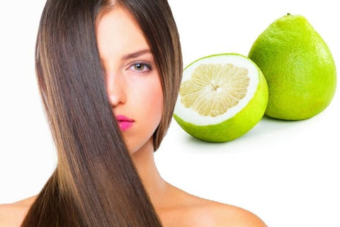 Massage your head with grapefruit peel oil large - MCSARA Hair
