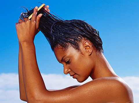 Moisturize your hair color twice a day