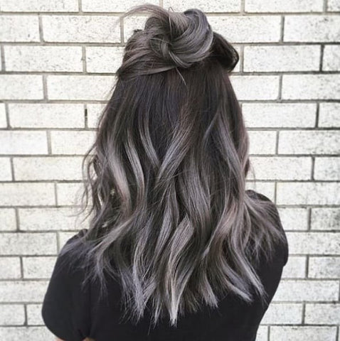 Autumn Dyed Hair Color Ombre Hair