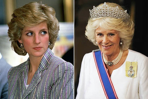 Royal hairstyles: Princess Diana
