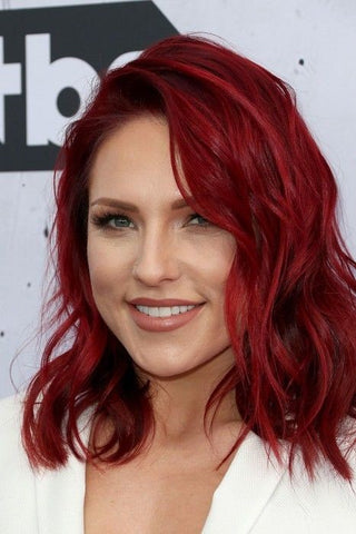 Autumn Dyed Hair Color Red Hair