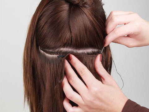 How To Sew In Hair Weave