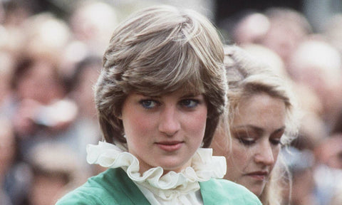 Short haircut with layers to create a bulge of Princess Diana