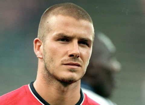 David Beckham hairstyles: buzz cut