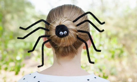 Easy Hairstyle Idea for Halloween
