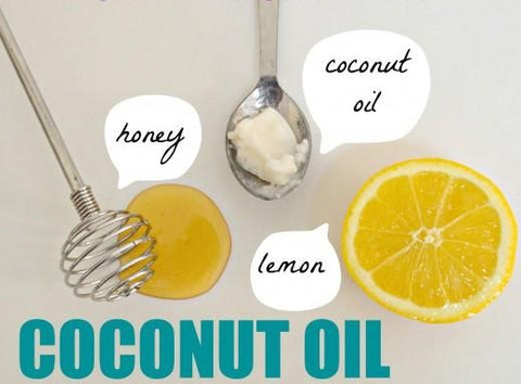Combining coconut oil with honey