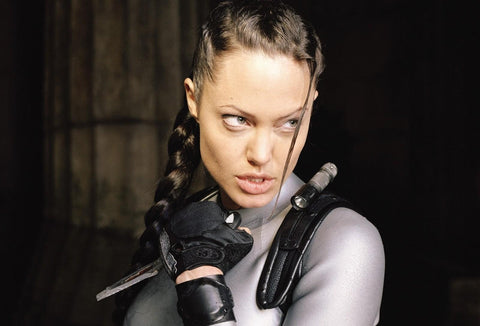 Beautiful Angelina Jolie's Hairstyles From Movies Lara Croft: Tomb Raider
