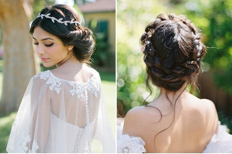 low bun hair large - Wedding Hairstyles And Make-Up For Beautiful Brides-To-Be