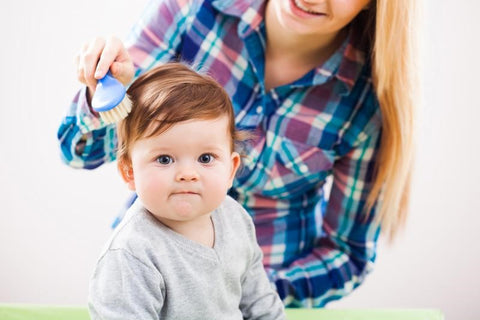 5 reasons you should brush your baby's hair regularly
