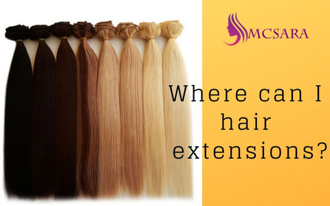 where to buy hair extensions near me