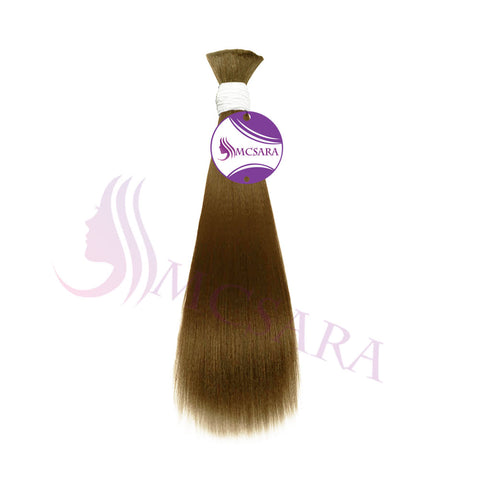 Bulk straight hair blonde H color A++
