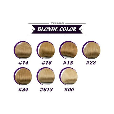 Bulk deep curly hair  blonde color #60