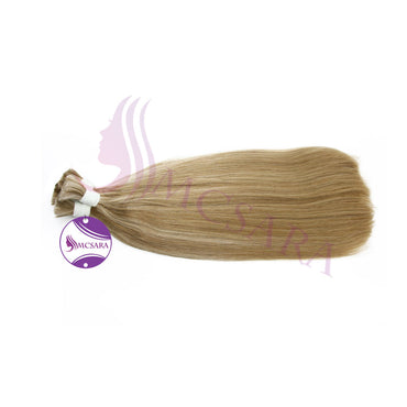 Bulk straight hair blonde cold color A+ - MCSARA HAIR