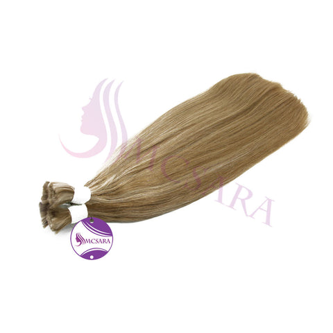 Bulk straight hair blonde cold color A+