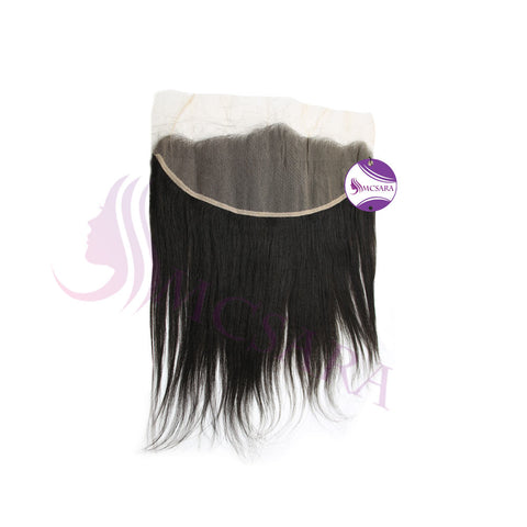 Closure (13x4) straight black hair extensions